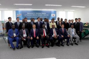 DRC delegation to South Korea